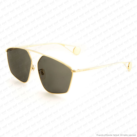 Gucci - Gg0437Sa Gold/grey (002) Sunglasses