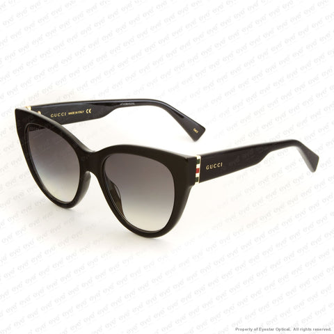 Gucci - Gg0460S Black/grey Gradient (001) Sunglasses