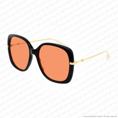 Gucci - Gg0511S Black/orange Sunglasses