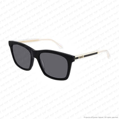 Gucci - Gg0558S Black & Crystal/grey (001) Sunglasses
