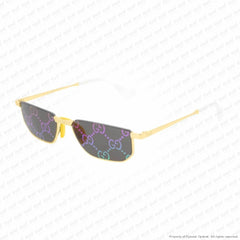 Gucci - Gg0627S Gold/multicolor Double Mirror (002) Sunglasses