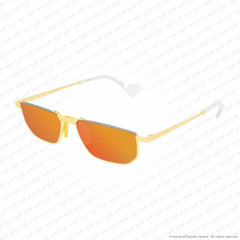 Gucci - Gg0627S Gold/orange (003) Sunglasses