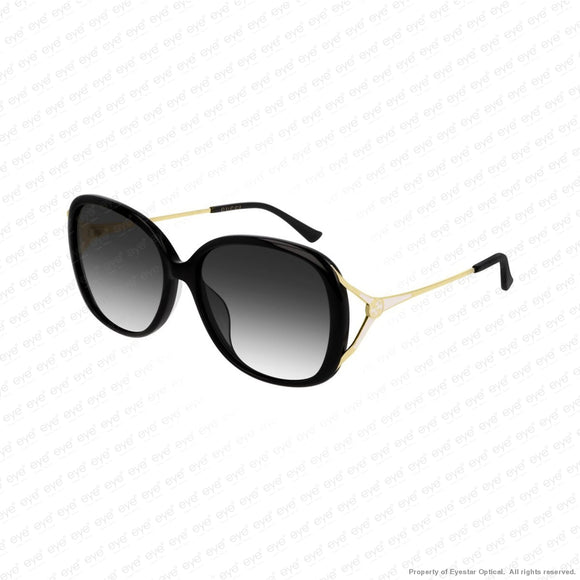 Gucci - Gg0649Sk Gold Black/grey (001) Sunglasses