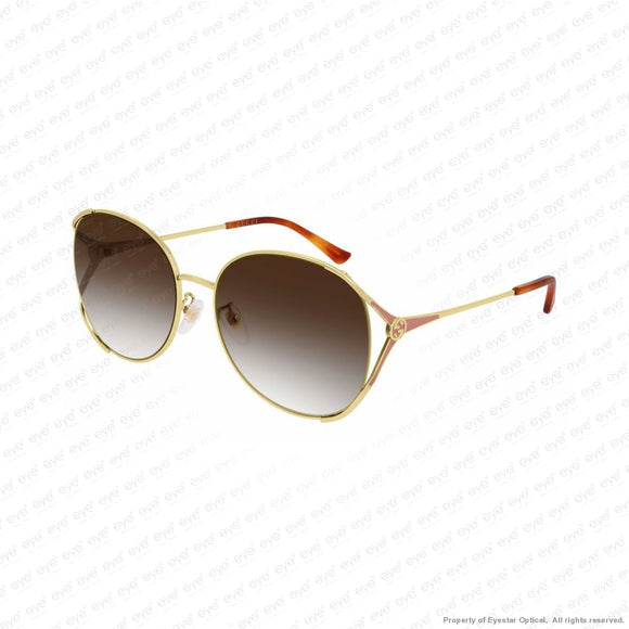 Gucci - Gg0650Sk Gold/brown (004) Sunglasses
