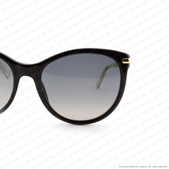 Gucci - Gg3771Ns Black & Gold/grey Shaded Polarized Sunglasses
