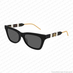 Gucci - Gg598S Black/grey (001) Sunglasses