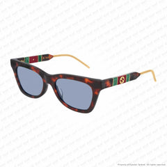 Gucci - Gg598S Havana/blue (002) Sunglasses