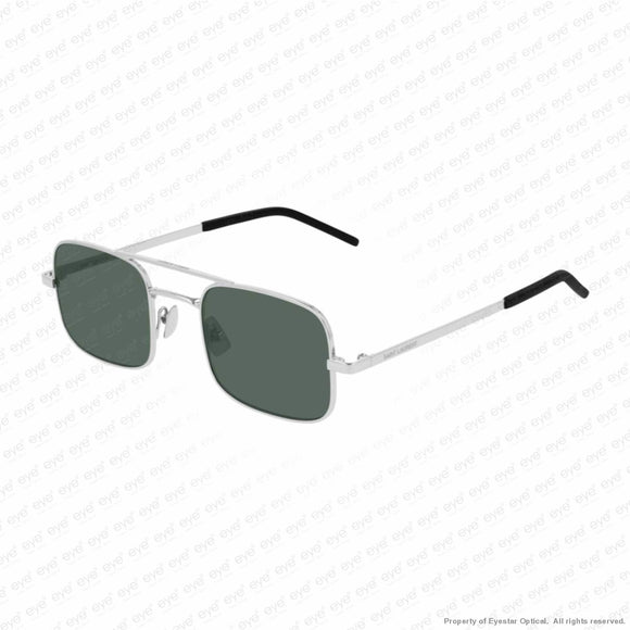 Saint Laurent - Sl 331 Silver/green (002) Sunglasses