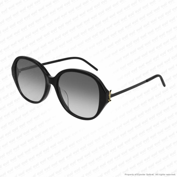 Saint Laurent - Sl M48S_B/k Black/smoke Gradient (002) Sunglasses