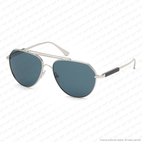 Tom Ford - Andes Ft0670 Palladium Black/dark Teal (16V) Sunglasses