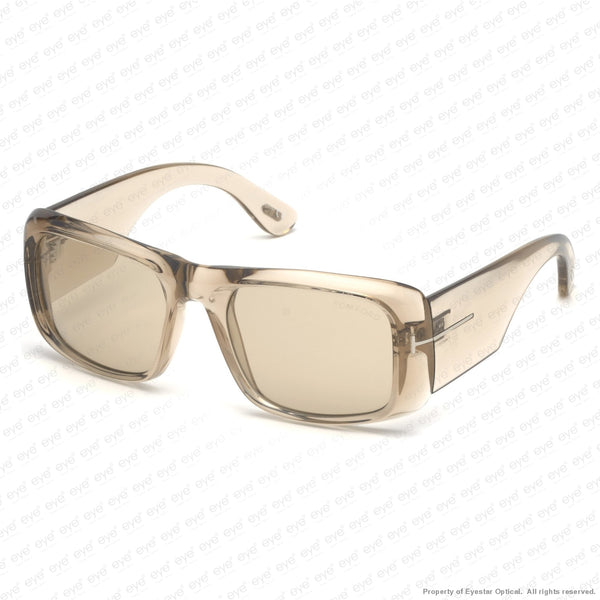Tom Ford - Aristotle Ft0731 Crystal Grey/light Grey (20A) Sunglasses