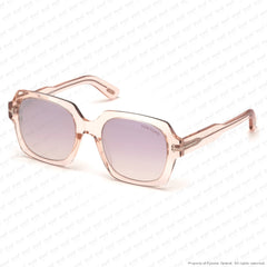 Tom Ford - Autumn Ft0660 Crystal Pink/wine Pearl Gradient (72Z) Sunglasses