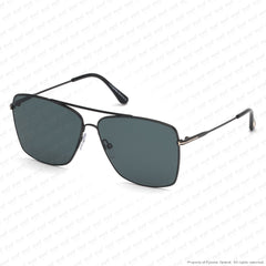 Tom Ford - Magnus Ft0651 Black/dark Teal (01V) Sunglasses