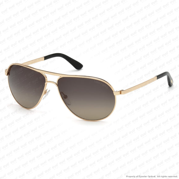 Tom Ford - Marko Ft0144 Rose Gold/polarized Grey (28D) Sunglasses