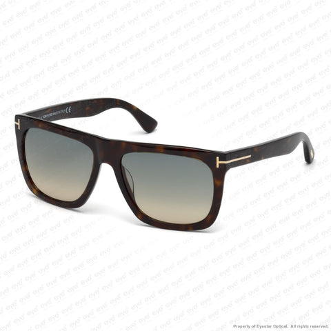 Tom Ford - Morgan Ft0513 Dark Havana/turquoise Sand Gradient (52W) Sunglasses