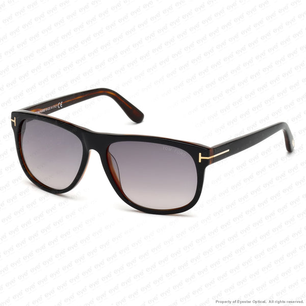 Tom Ford - Olivier Ft0236 Black & Brown Horn/grey Gradient (05B) Sunglasses