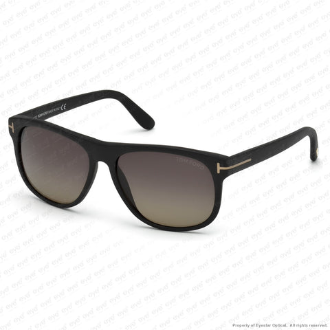 Tom Ford - Olivier Ft0236 Matte Black/polarized Grey Gradient (02D) Sunglasses