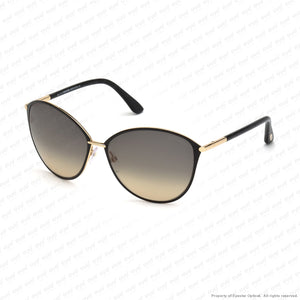 Tom Ford - Penelope Ft0320 Rose Gold & Black/smoke Gradient (28B) Sunglasses