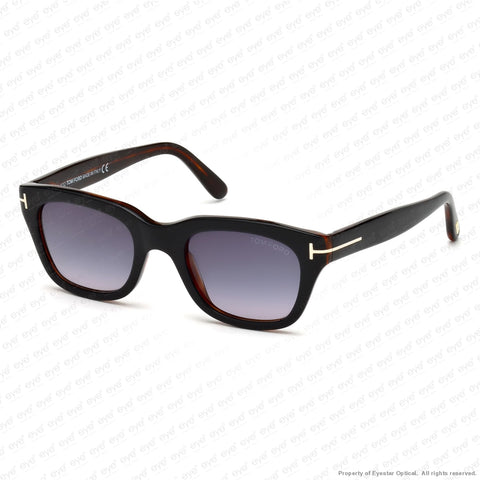 Tom Ford - Snowdon Ft0237 Black Havana/grey Gradient (05B) 50-21-145 Sunglasses