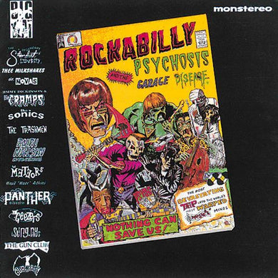 Various Artists - Rockabilly Psychosis and The Garage Disease