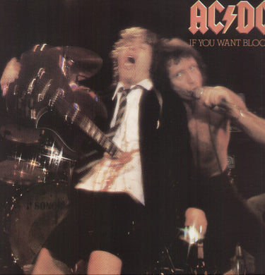 AC/DC - If You Want Blood You've Got It - Covert Vinyl