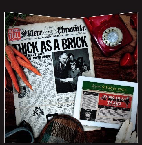 Jethro Tull - Thick As a Brick /  Thick As a Brick 2