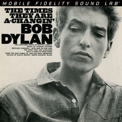 Bob Dylan - The Times They Are A-Changin' - Mobile Fidelity