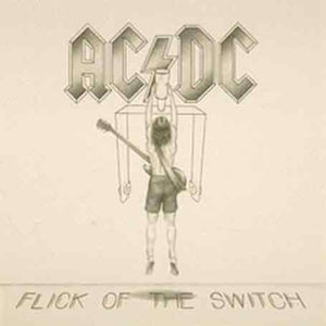 AC/DC - Flick of the Switch - Covert Vinyl
