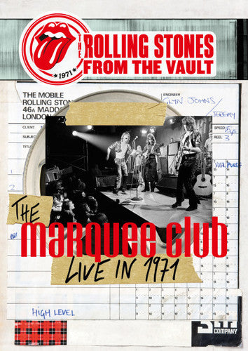 Rolling Stones, The - From The Vault - The Marquee Club Live In 1971 [LP/ DVD]