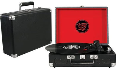 Vinyl Styl™ Groove Portable 3 Speed Turntable (Black)