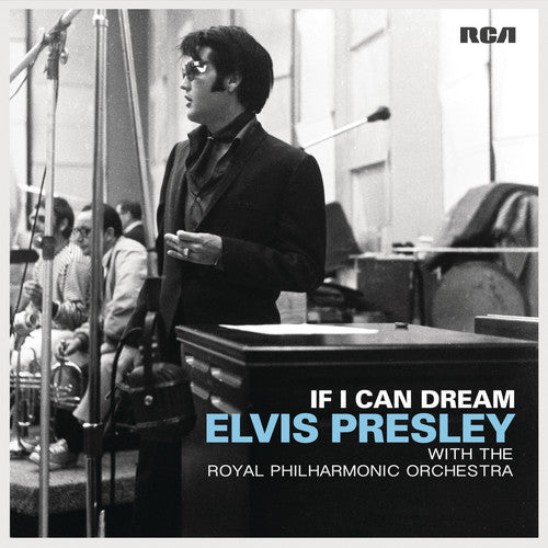 Elvis Presley - If I Can Dream: Elvis Presley with the Royal Philharmonic Orchestra - Covert Vinyl