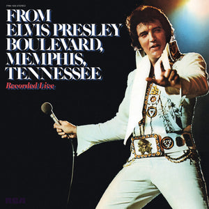 Elvis Presley - From Elvis Presley Boulevard Memphis Tennessee (Translucent Gold) LP - Covert Vinyl