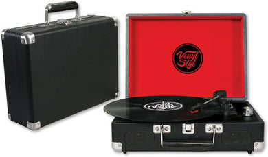 Vinyl Styl™ Groove USB Recording 3 Speed Portable Turntable (Black)