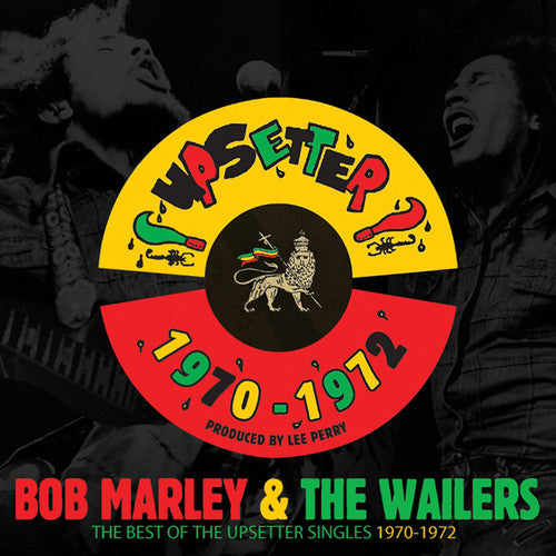 Bob Marley & the Wailers - The Best Of The Upsetter Singles 1970-1972 - Covert Vinyl