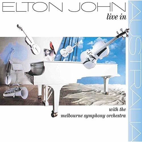 Elton John - Live In Australia With The Melbourne Symphony Orchestra - Covert Vinyl