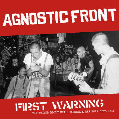Agnostic Front - First Warning