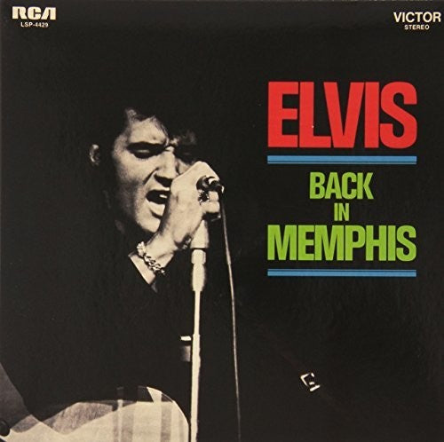 Elvis Presley - Back In Memphis - Covert Vinyl