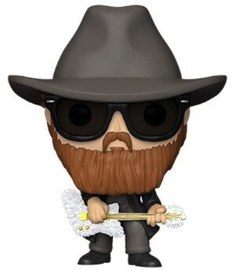 FUNKO POP! ROCKS: - ZZ Top - Billy Gibbons (Flocked)