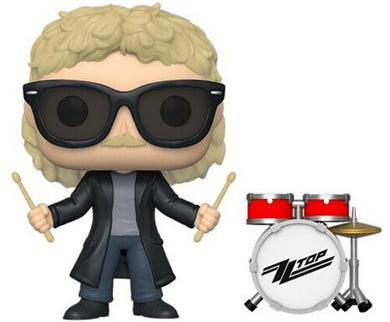 FUNKO POP! ROCKS: - ZZ Top - Frank Beard