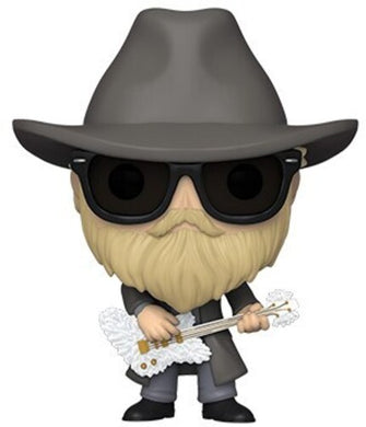 FUNKO POP! ROCKS: - ZZ Top - Dusty Hill (Flocked)