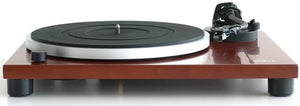 Music Hall MMF1.5 Turntable Phono PreAmp S Shaped Tone Arm WithMounted Cartridge Cherry Wood