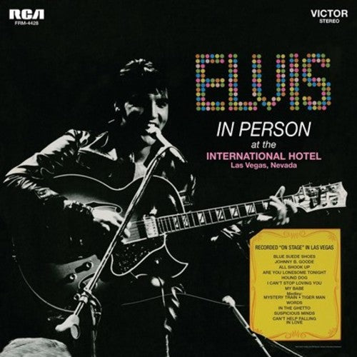 Elvis Presley - In Person At The International Hotel Las Vegas Nevada - Covert Vinyl