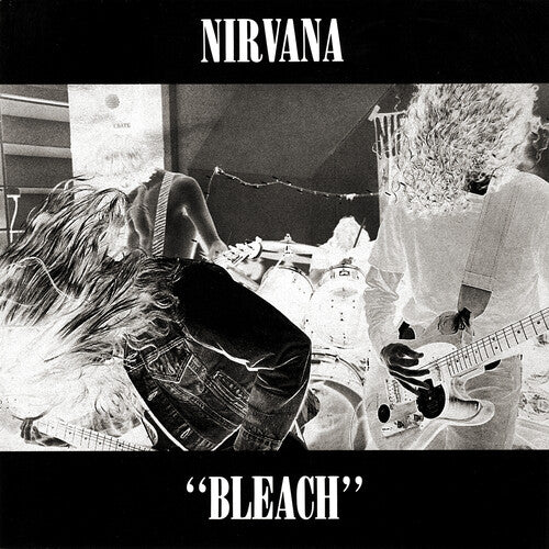 Nirvana - Bleach - Red & Black Vinyl - Indie Exclusive