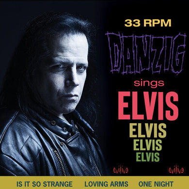 Danzig - Sings Elvis - Blue Vinyl