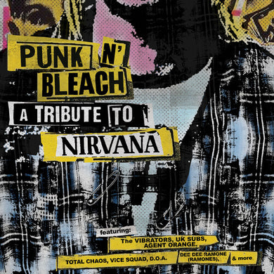 Various Artists - Punk N' Bleach - A Punk Tribute To Nirvana - Colored Vinyl