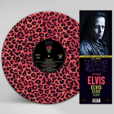 Danzig - Sings Elvis - Pink Leopard Picture Disc