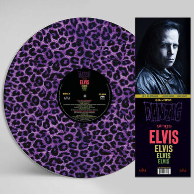Danzig - Sings Elvis - Purple Leopard Picture Disc