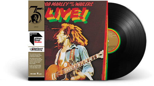 Bob Marley & The Wailers - Live! - Half-Speed Version