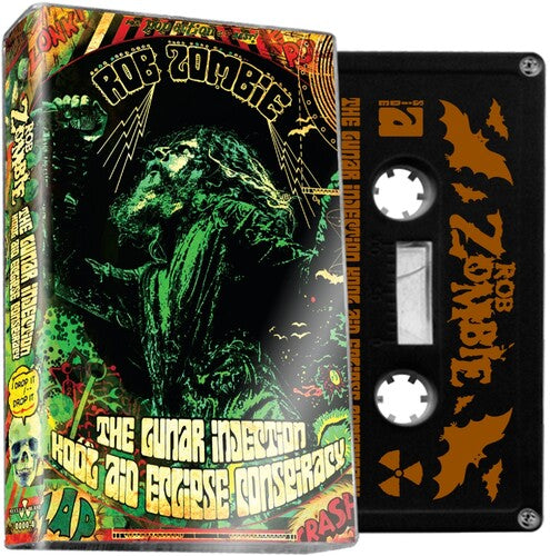 Rob Zombie - The Lunar Injection Kool Aid Eclipse Conspiracy - Cassette