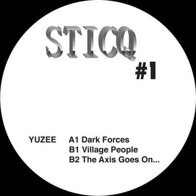 "Yuzee - Sticq #1 - 12"" Single"